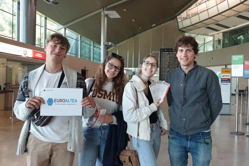 Quatre joves alteans participen en Turquia en un projecte Erasmus + sobre medi ambient