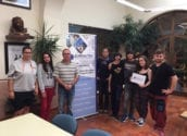 """Els artistes de """"Mai Més Teatre"""" posen rumb a Eslovènia amb un projecte Erasmus + de l'OPE d'Altea"""