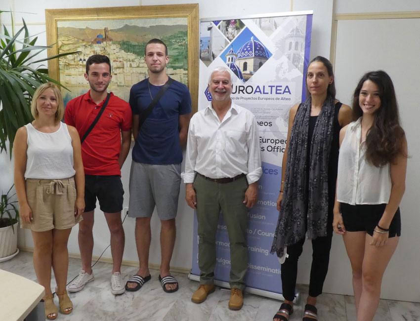 Altea participa en un intercanvi juvenil a Itàlia del programa Erasmus+