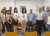 El alcalde y la directora general de Justicia visitan las nuevas instalaciones del Juzgado de Paz