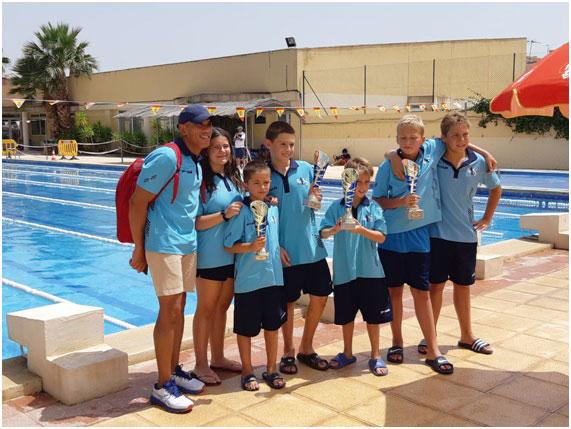 El Club de Natació Adrenalin Sport Altea aconsegueix quatre medalles
