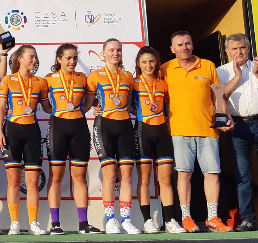 Nuevos éxitos para los ciclistas alteanos