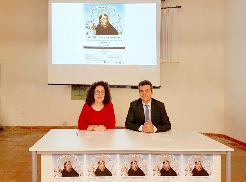 Altea acollirà el VIII Curs de Cultura Popular 'Sant Vicent Ferrer: Vida, Història i Llegenda'