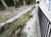 Medi Ambient escomet treballs de neteja al barranc Els Arcs