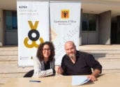L'Ajuntament presenta a SEDA, l'empresa que inicia la gestió de Palau Altea Centre d'Arts