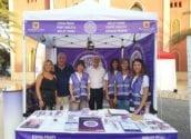 El Punto Violeta sensibiliza a 651 personas en la noche del Castell de l'Olla