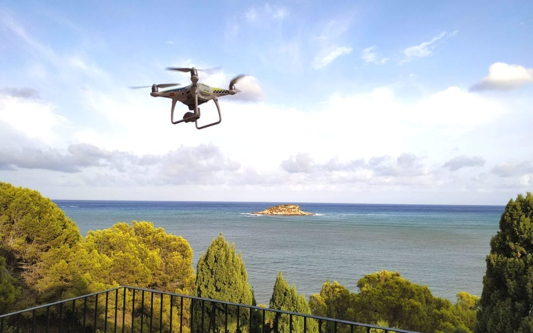 La Policia Local integra un dron a les seues unitats de protecció i vigilància