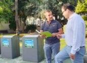 Las concejalías de Sanidad, Comercio y Seguridad ciudadana, remarcan la importancia de depositar las bolsas de basura en los horarios adecuados