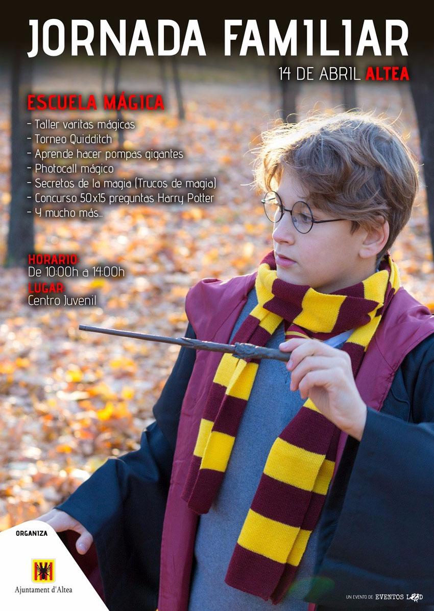 El Centre Juvenil d'Altea acull una jornada familiar amb la màgia com a protagonista, el diumenge 14 d'abril, de 10:00 a 14:00 hores.