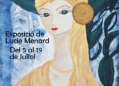 """Hasta el 19 de julio la Fundación E. Schlotter expone """"Les dames i el mar"""" de Lucie Menard, con horario de visitas de lunes a viernes de 10h a 14h y de 17h a 20h."""