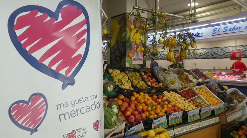 """Comerç i l'Associació de Concessionaris del Mercat Municipal reactiven la campanya internacional """"M'agrada el meu Mercat"""", iniciada fa dos anys"""