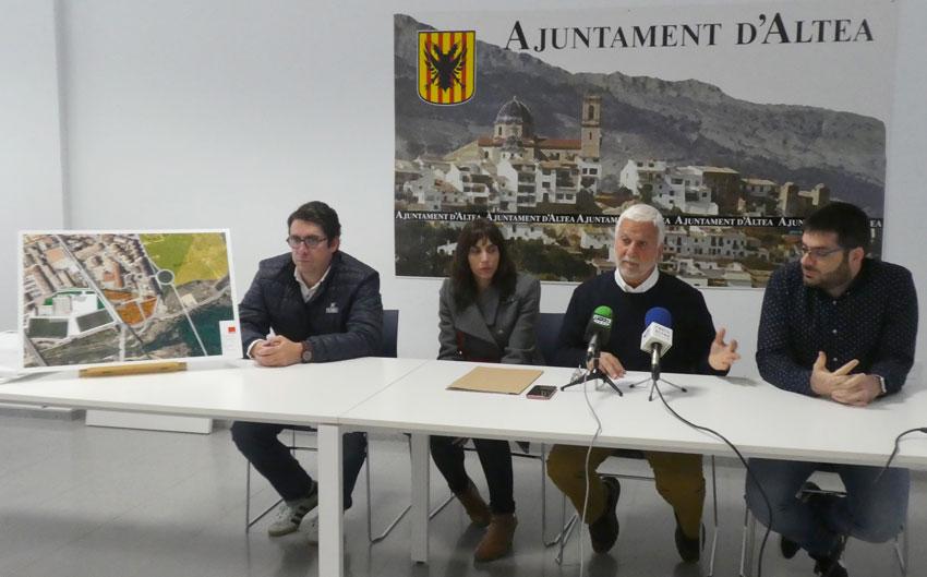 L'equip de govern presenta un projecte de millora de les instal·lacions de la Ciutat Esportiva i de la nova zona de creixement dotacional esportiu