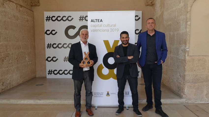 Altea i Vilafranca són presentades oficialment a València com capitals culturals valencianes 2019-2020