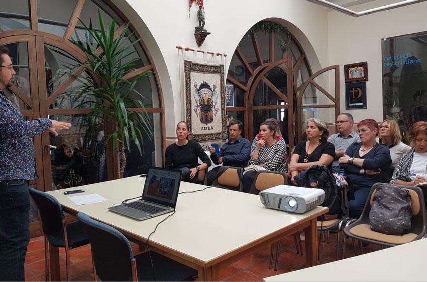 EuroAltea i associacions locals continuen treballant en el projecte URBACT