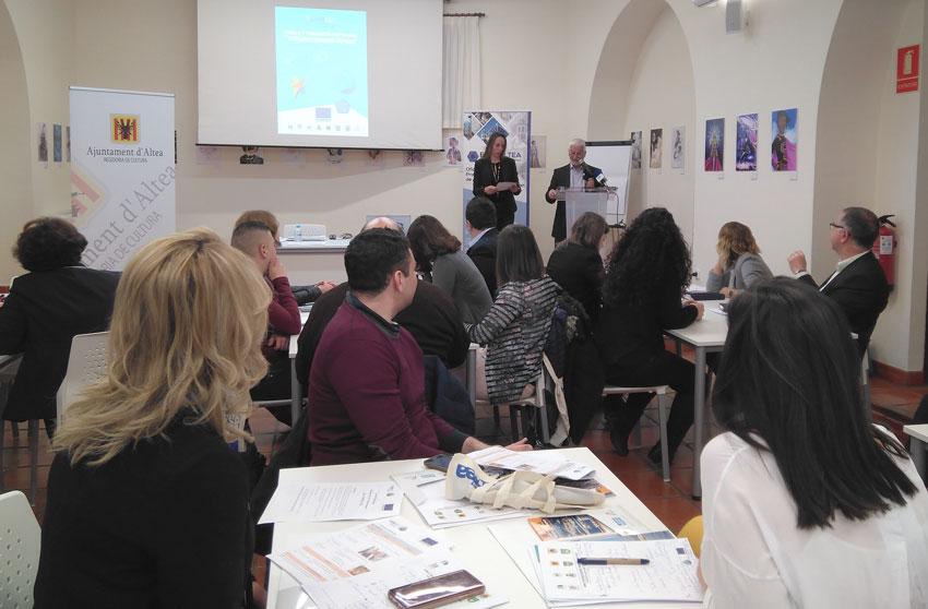 """El projecte """"URBACT III"""" centra Altea com a ciutat de voluntariat"""