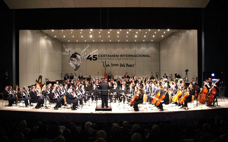 Llega la 46 edición del Certamen Internacional de Música Vila d'Altea