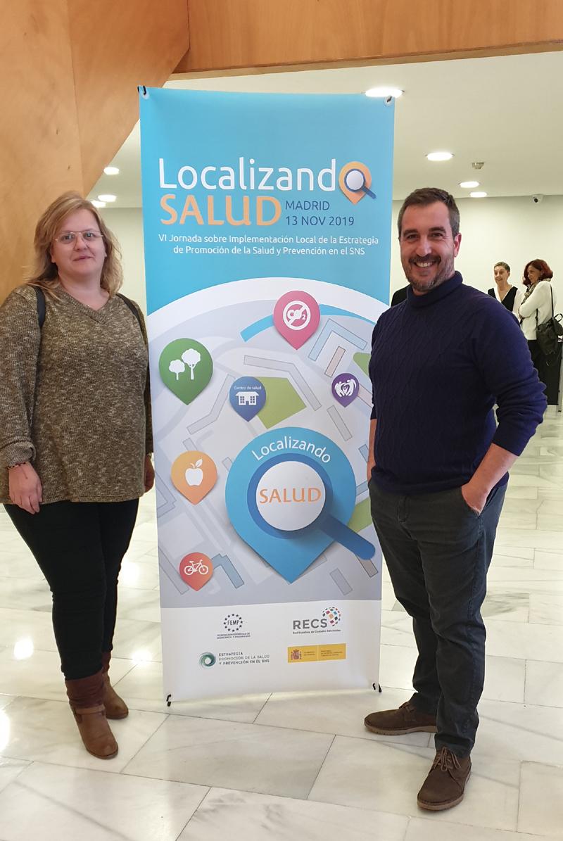 Sanidad y Bienestar Social participa en varias jornadas formativas con el objetivo de mejorar estos ámbitos en el municipio