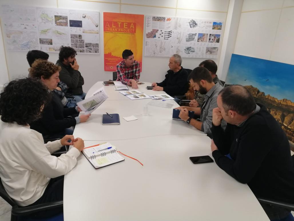 El edil de Medio Ambiente se reúne con Toni Marzó, director del CIEF