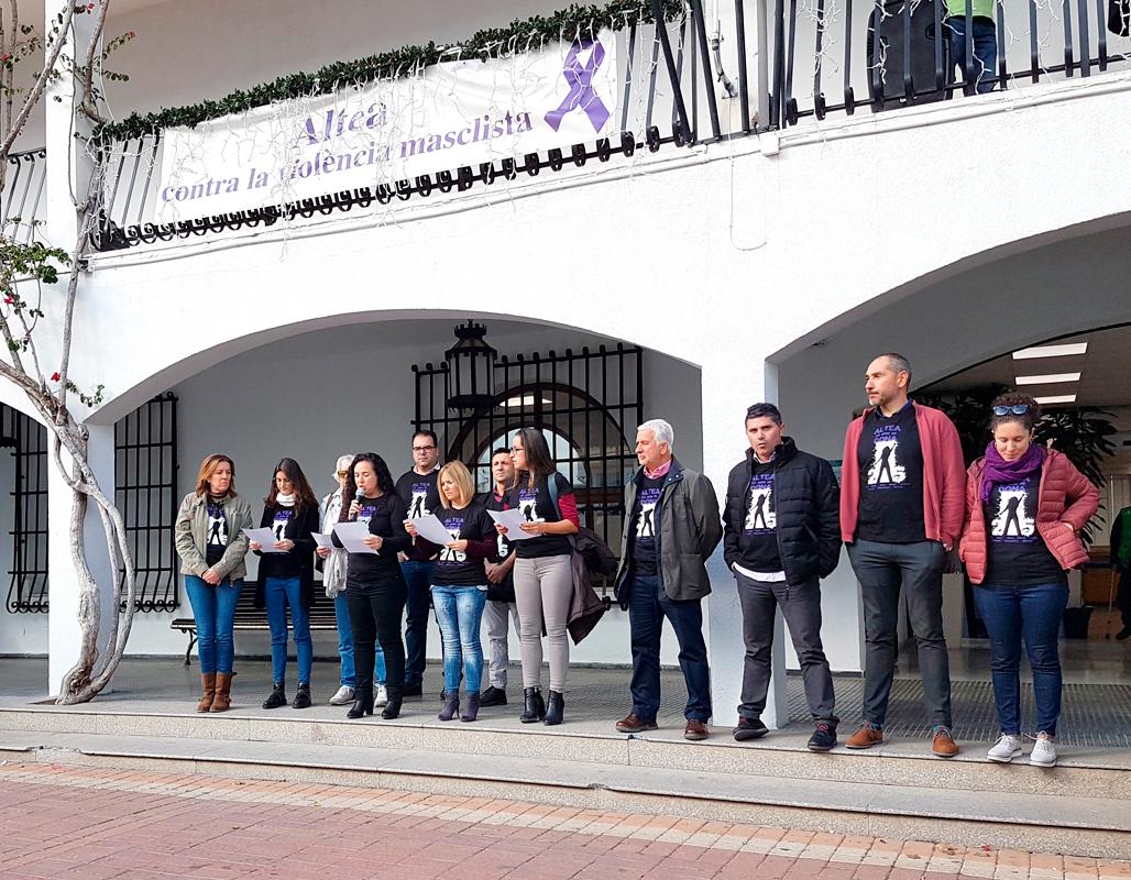 """Concentración con motivo del """"Día Internacional contra las Violencias Machistas"""""""