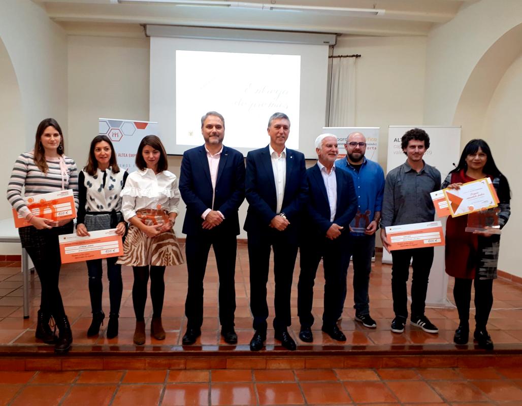 La Buena Juanita, Spanish Courses, Cup Canvas y Play Guía se alzan con los premios de la 1ª edición de Altea Emprende