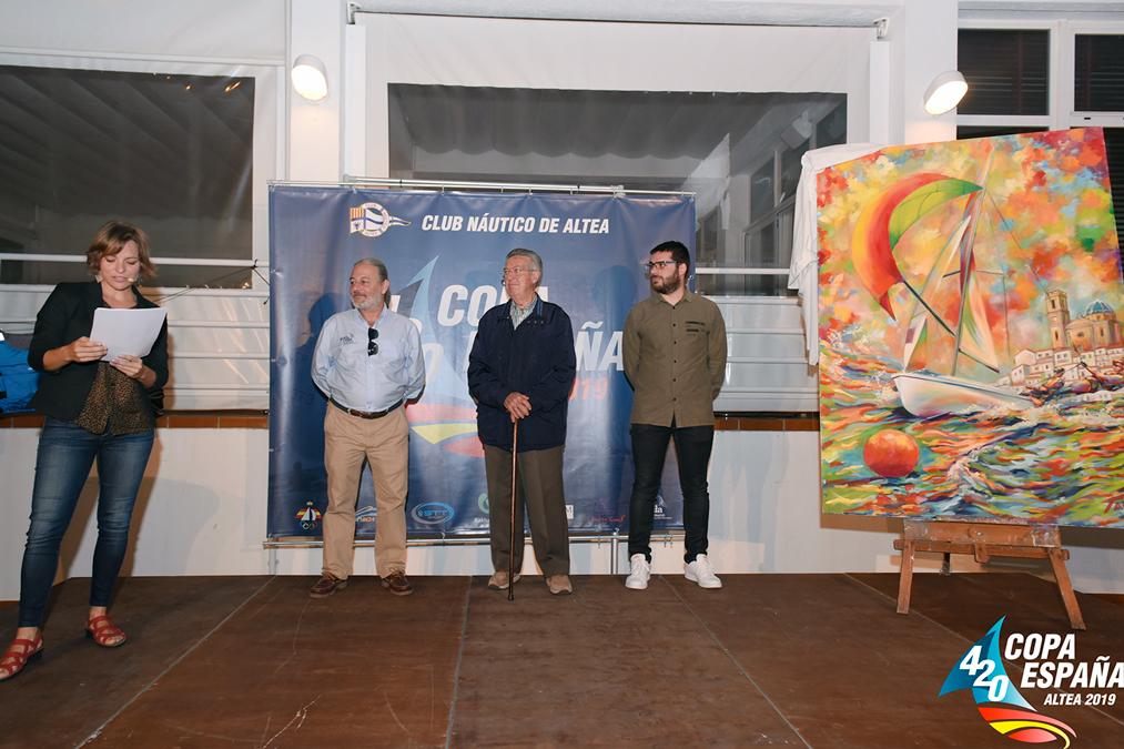 Jacobo García i Antonio Ripoll guanyadors de la Copa d'Espanya de 420