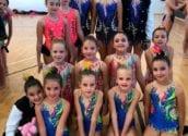 Les gimnastes alteanes acaben la temporada de competicions amb grans resultats