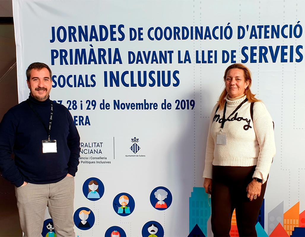 L'edil de Benestar Social assisteix a les Jornades de Coordinació d'Atenció Primària davant la Llei de Serveis Socials Inclusius
