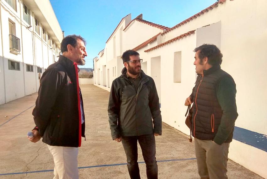 Dan inicio las obras de la Calle de Pelota Valenciana en la Ciudad Deportiva de Altea