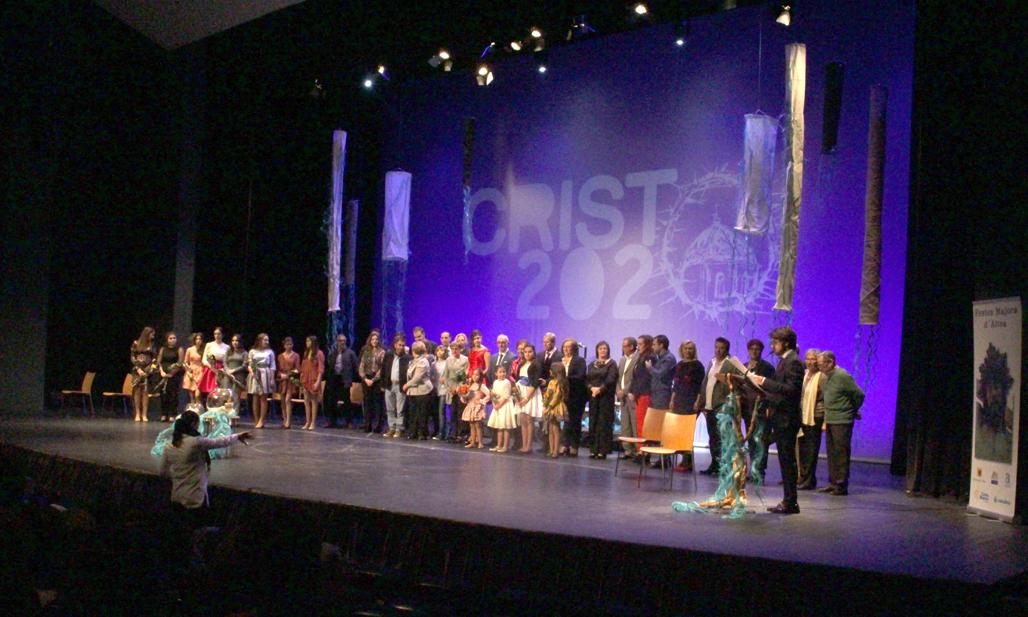 Àngels Ferrer i Andrea Soler elegides reina major i infantil del Stm. Crist del Sagrari 2020
