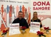 Sanitat i Donanters posen en marxa la campanya solidària de Nadal