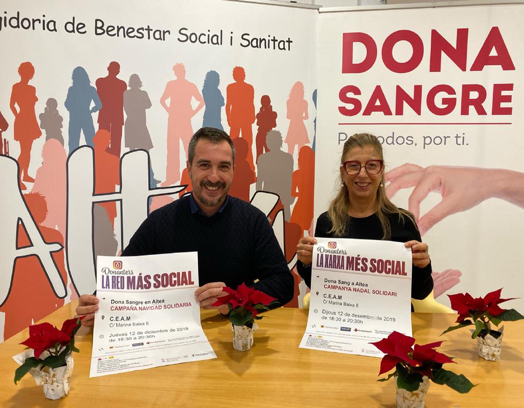 Sanidad y Donanters ponen en marcha la campaña solidaria de Navidad