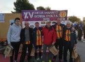 Nodrida representació del Club Atletisme Altea a la Mitja Marató Serra D'Oltà