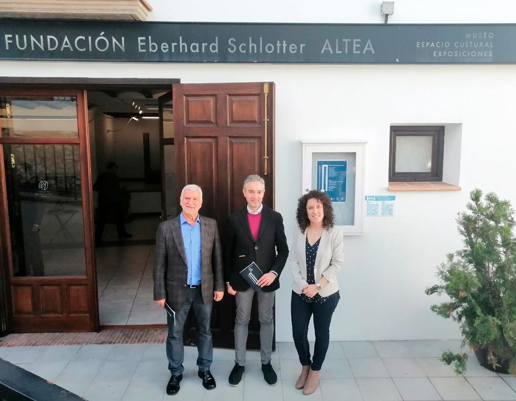 La exposición de Arte Contemporáneo de la Generalitat 'Processos de transformació' ya se puede visitar en Altea