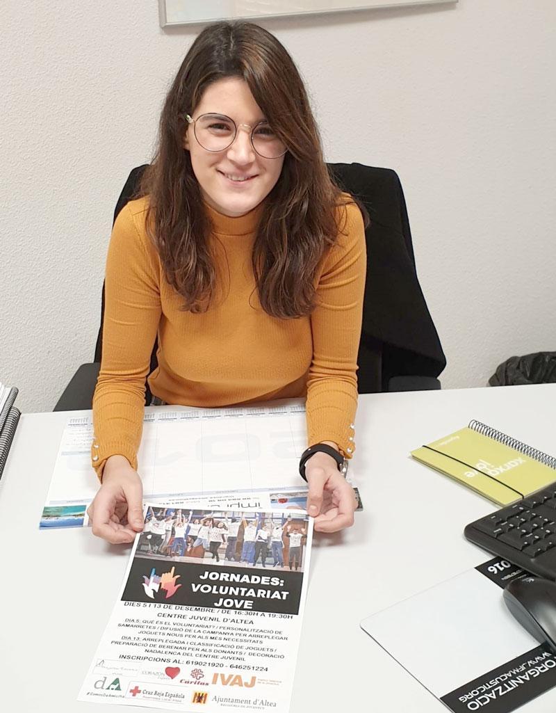 Los días 5 y 13 de diciembre los jóvenes de Altea tienen una cita con las 'Jornadas de Voluntariado Joven'