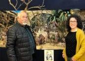La Casa de Cultura acull el Betlem realitzat per l'Associació Belenista 'Amics del Betlem de la Marina' a Altea