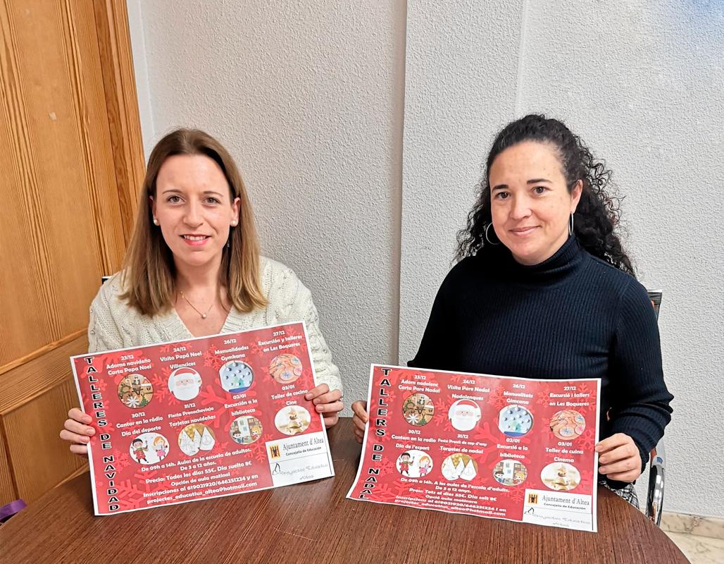 Educación informa que ya están abiertas las inscripciones para la Escuela de Navidad