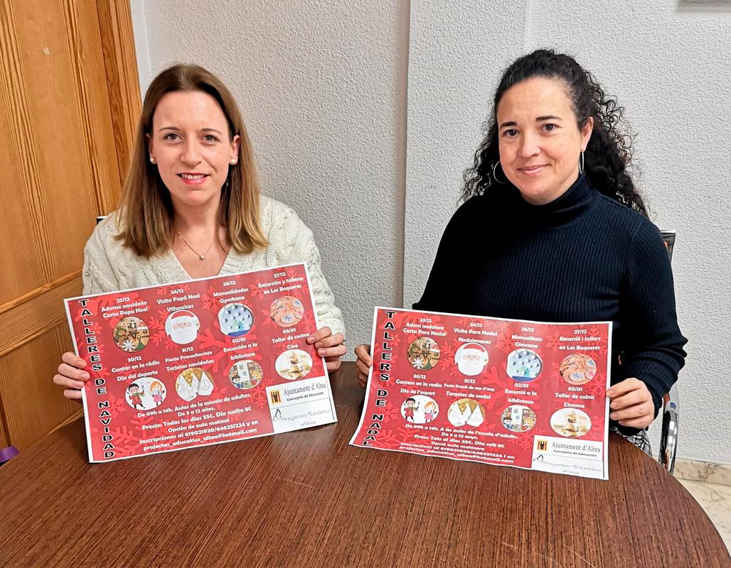 Educació informa que ja estan obertes les inscripcions per a l'Escola de Nadal