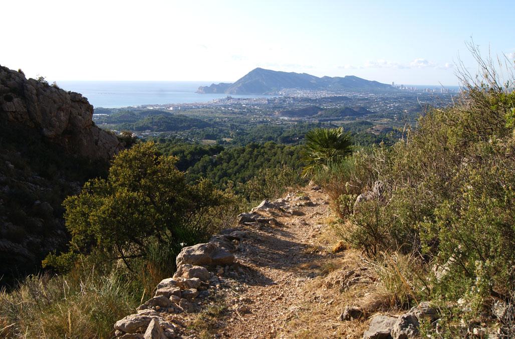 Medi Ambient i Turisme inverteixen 15.800 euros en l'adequació del ''Camí de les Revoltes'' a la Serra de Bèrnia