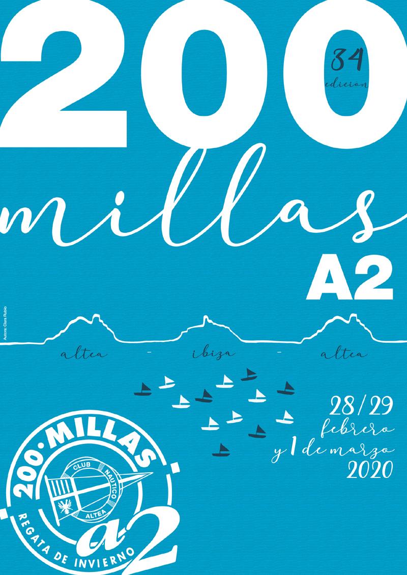 La regata 200 millas a2 promueve el arte