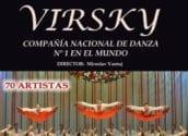 El proper dissabte 11 de gener, a les 20:30h, la Companyia Nacional de Dansa d'Ucraïna posarà sobre l'escenari de Palau Altea l'espectacle Virsky, dirigit per Miroslav Vantuj.