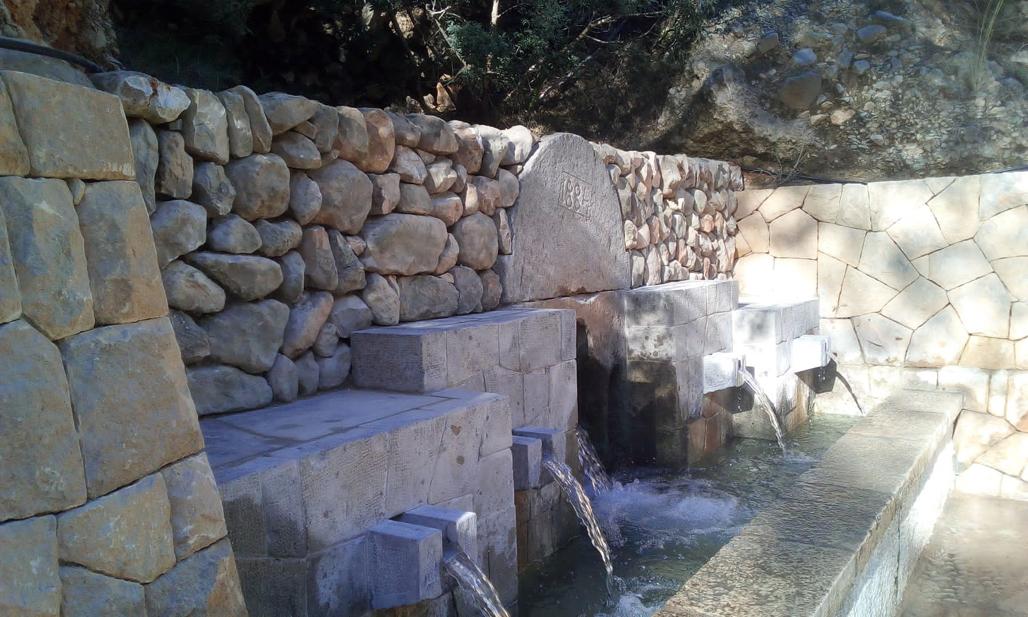Infraestructuras restaura la Font Gran de Altea la Vella