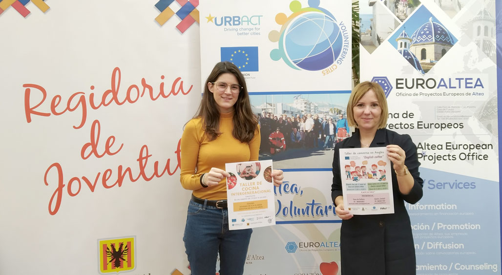 Joventut i Projectes Europeus posen en marxa un ''Taller de Cuina Intergeneracional'' i un ''Taller de conversa en anglès''