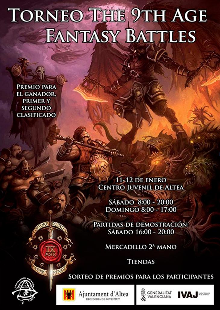 Joventut comença el 2020 amb un torneig de Warhammer