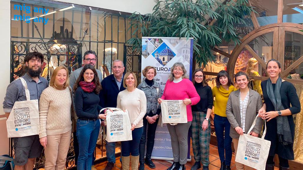 """Altea guardonada amb el """"Starup Europe Awards"""" per la seua participació en el programa Yourope"""