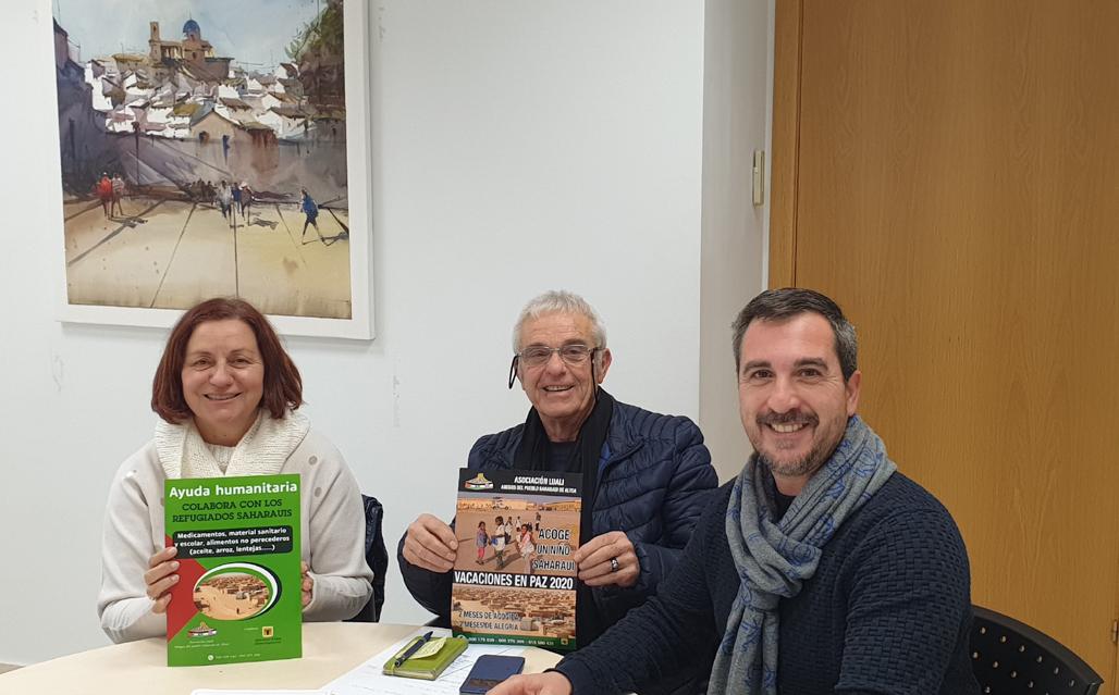 Bienestar Social y Luiali ponen en marcha una campaña de ayuda humanitaria dirigida al Pueblo Saharaui