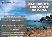 La corporació municipal i l'Associació de Veïns de l'Olla i Cap Negret convoquen a la marxa ''Caminem pel monument natural''