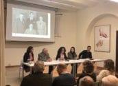 Els alteans Diego Barber i Cristina Fuster presenten el Premi  Altea d'Assaig i Investigació 2019