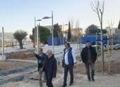 L'alcalde i el regidor d'Urbanisme visiten les obres del campus de Belles Arts d'Altea