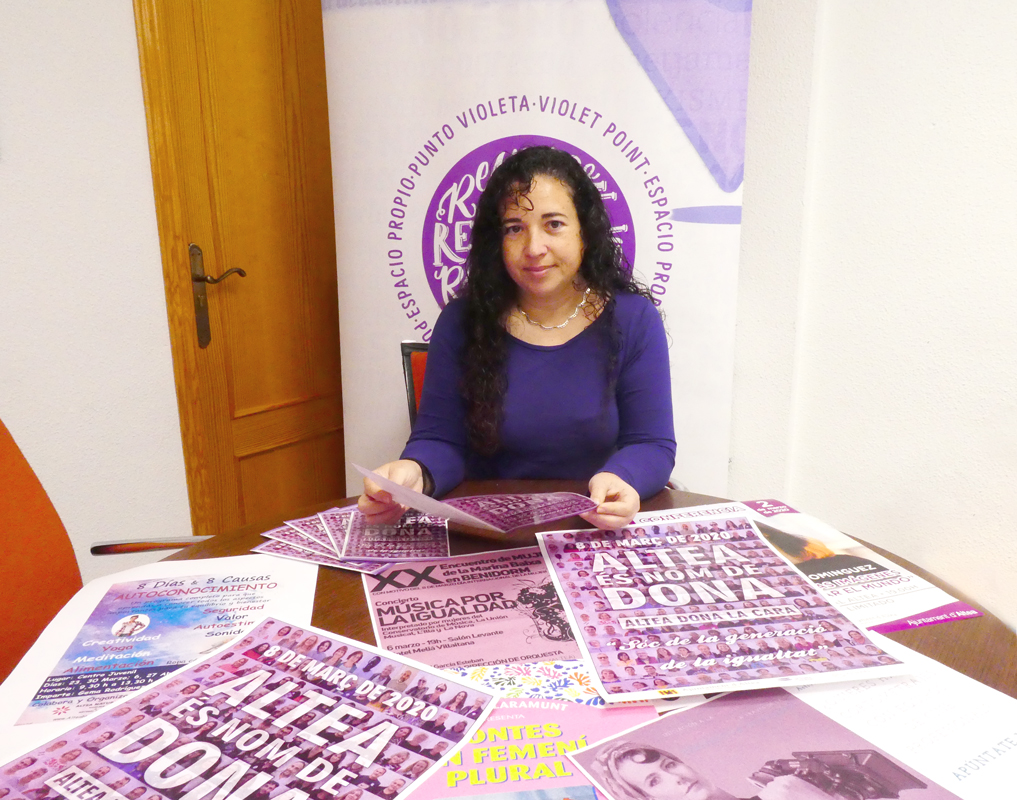 Altea ofrece una amplia programación de actividades para celebrar el Día Internacional de la Mujer
