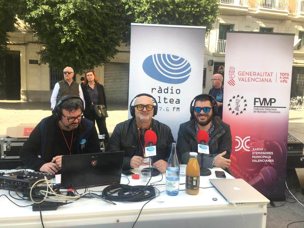 Radio Altea participa en el Día Mundial de la Radio organizado por la FVMP